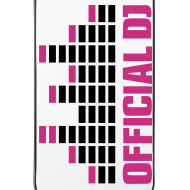 Diseño ~ Funda Iphone 4/4S Official DJ (rosa)