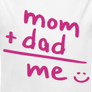 Diseño ~ Mom + Dad = ME (rosa)