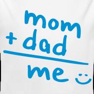 Diseño ~ mom + dad = ME (azul)