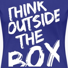 Think Outside The Box Camisetas