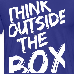 Think Outside The Box T-shirts - Mannen Premium T-shirt