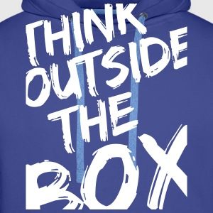Think Outside The Box Hoodies & Sweatshirts - Men's Premium Hoodie