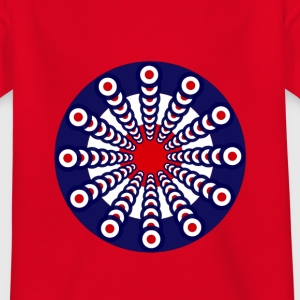 Mod Clock Kids T-shirt - Kinder T-Shirt