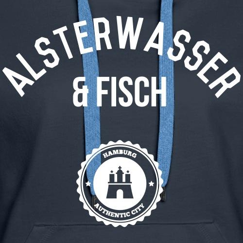 Alsterwasser und Fisch 1 (Hamburg)