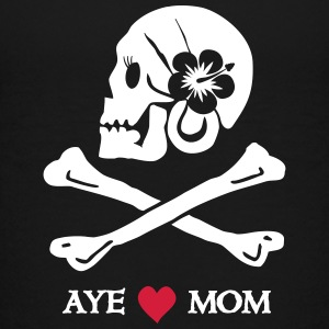 Aye love Mom T-Shirts - Teenager Premium T-Shirt