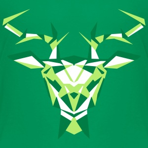 multifaceted deer head Shirts - Kids' Premium T-Shirt