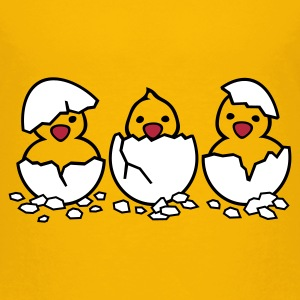 Out of the Eggs - Kids' Premium T-Shirt