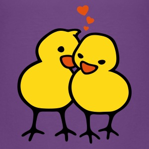 Chicks in Love - Børne premium T-shirt