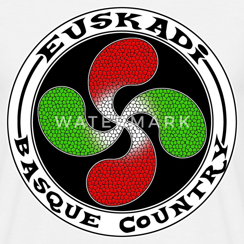 euskadi basque country Tee shirts - T-shirt Homme