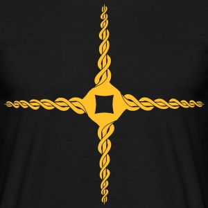 celtic krydse design T-shirts - Herre-T-shirt