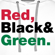 Red, Black & Green. Hoodies & Sweatshirts