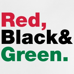 Red, Black & Green. Shirts - Baby T-Shirt