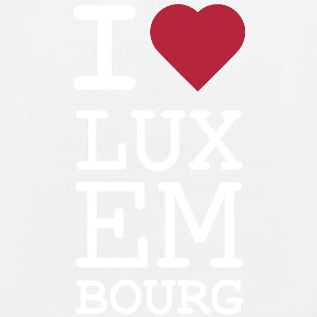 I ♥ Luxembourg - Organic bag