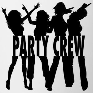 Party Crew / Drinking Team / Party on! 1c Flaskor & muggar - Mugg