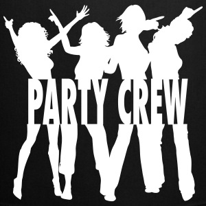 Party Crew / Drinking Team / Party on! 1c Kookschorten - Keukenschort