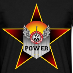 hard music power Tee shirts - T-shirt Homme