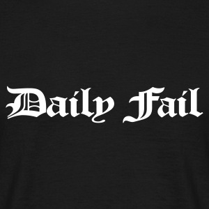 Daily Fail tshirt - Men's T-Shirt