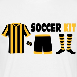 Soccer Kit T-shirts - Mannen T-shirt