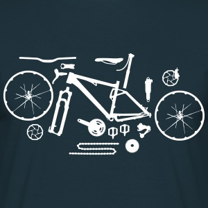 Mountainbike Kit T-Shirt - Männer T-Shirt