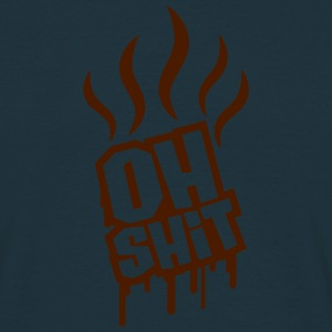 Oh Shit Graffiti T-shirts - Mannen T-shirt