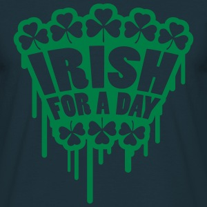 Irish For A Day Graffiti Camisetas - Camiseta hombre