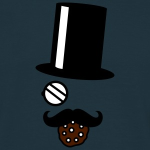 Sir Cookie Nom Nom T-shirts - Mannen T-shirt