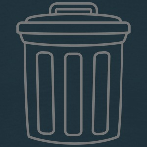 Garbage Can T-shirts - Herre-T-shirt