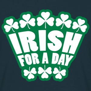 Irish For A Day T-skjorter - T-skjorte for menn