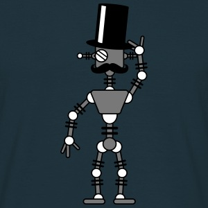 Sir Robot T-shirts - Mannen T-shirt