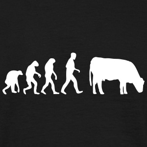 kuh evolution T-Shirts - Männer T-Shirt