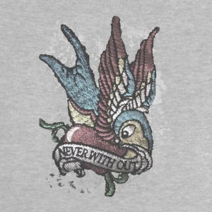 Tattoo bird vintage distressed patjila T-Shirts - Baby T-Shirt