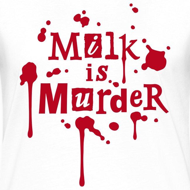 Womens Kontrast-Shirt 'MILK is Murder' RW