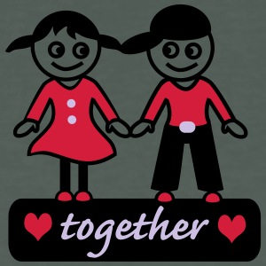 together T-Shirts - Männer Bio-T-Shirt