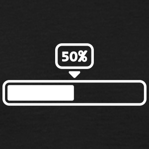 50 Procent Loading Bar T-Shirts - Men's T-Shirt