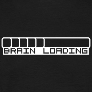 Brain Loading Bar T-shirts - T-shirt herr