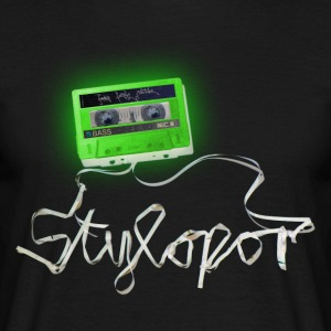 Tape Invert (green) © by STYLOPOR - Männer T-Shirt