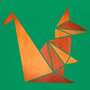Origami: Eichhörnchen (Pergament-Optik) T-Shirts - Teenager Premium T-Shirt