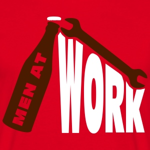 Men at work T-shirts - Herre-T-shirt