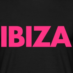 Ibiza Text T-shirts - Mannen T-shirt