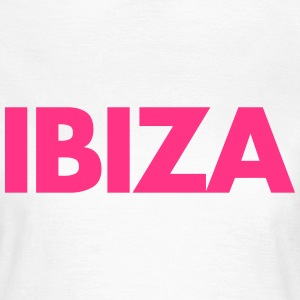 Ibiza Text T-Shirts - Frauen T-Shirt