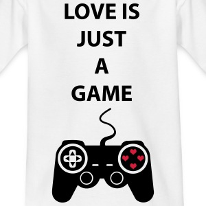Love is just a game 2c Camisetas - Camiseta niño