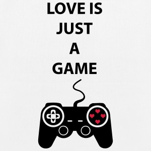 Love is just a game 2c Borse & zaini - Borsa ecologica in tessuto