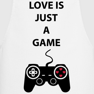 Love is just a Game 2c Fartuchy - Fartuch kuchenny