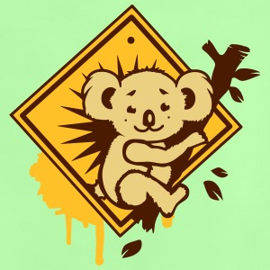 Koala road sign graffiti Shirts - Baby T-Shirt