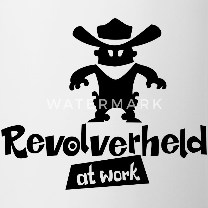 Revolverheld at work - Tasse