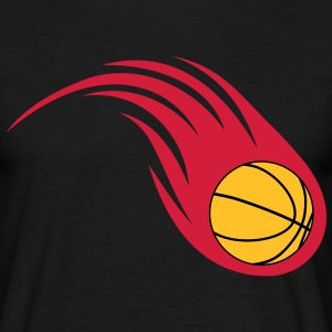 basketball ildkugle T-shirts - Herre-T-shirt