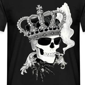 Skull with sunglasses T-shirts - Mannen T-shirt
