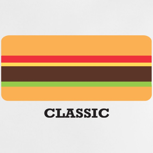 Classic Burger Baby Tee