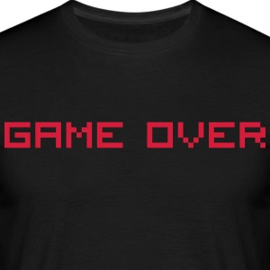 Game Over T-shirts - Herre-T-shirt