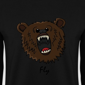 FlyMusic™  Bear with text Sweaters - Mannen sweater